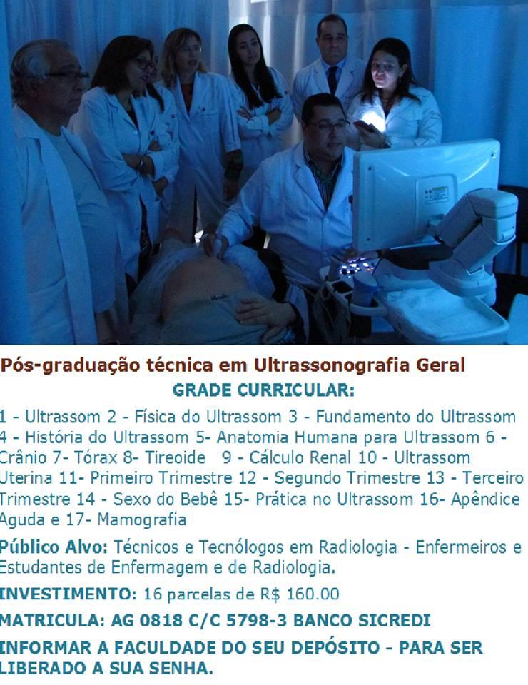 Pós-graduação técnica em Ultrassonografia Geral